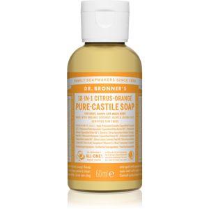 Dr. Bronner's Citrus & Orange tekuté univerzální mýdlo 60 ml
