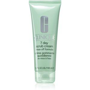 Clinique 7 Day Scrub Cream čisticí peeling pro každodenní použití 100 ml