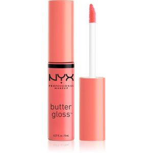 NYX Professional Makeup Butter Gloss lesk na rty odstín 08 Apple Strudel 8 ml