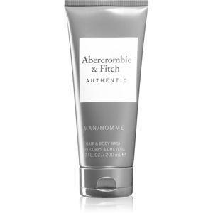 Abercrombie & Fitch Authentic sprchový gel na tělo a vlasy pro muže 200 ml