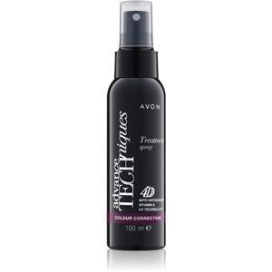 Avon Advance Techniques Colour Correction bezoplachová 4D péče ve spreji pro barvené vlasy 100 ml