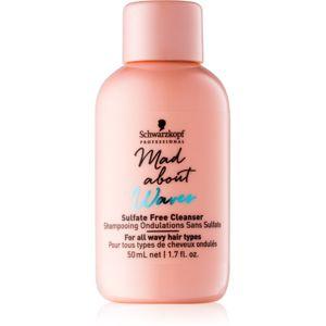 Schwarzkopf Professional Mad About Waves hydratační šampon pro vlnité vlasy 50 ml