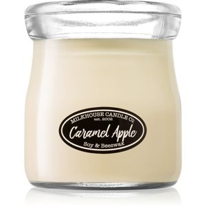Milkhouse Candle Co. Creamery Caramel Apple vonná svíčka Cream Jar 142 g