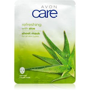 Avon Care plátýnková maska pro všechny typy pleti Aloe 1 ml