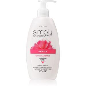 Avon Simply Delicate gel pro intimní hygienu s heřmánkem 300 ml