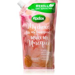 Radox Make Me Unique hydratační mýdlo na ruce 500 ml