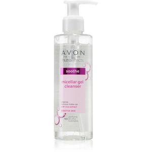 Avon Nutra Effects Soothe čisticí micelární gel pro citlivou pleť 180 ml