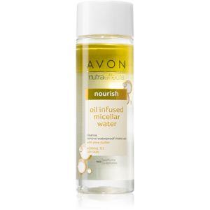 Avon Nutra Effects Nourish dvoufázová micelární voda pro normální až suchou pleť 200 ml