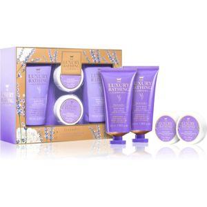 Grace Cole Luxury Bathing Lavender dárková sada II. pro ženy