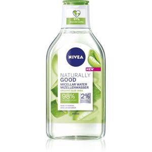 Nivea Naturally Good micelární voda s aloe vera 400 ml