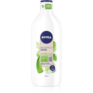 Nivea Naturally Good hydratační tělové mléko s aloe vera 350 ml