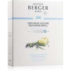 Maison Berger Paris Car Soap Memories vůně do auta náhradní náplň 2 x 17 g