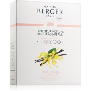Maison Berger Paris Car Ylang's Sun vůně do auta náhradní náplň 2 x 17 g