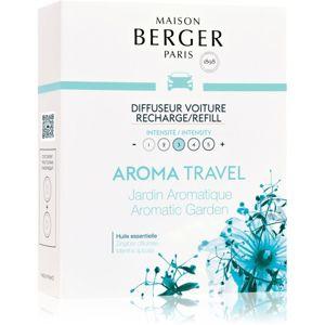 Maison Berger Paris Car Aroma Travel vůně do auta náhradní náplň (Aromatic Garden)