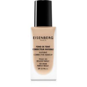 Eisenberg Le Maquillage Fond De Teint Correcteur Invisible make-up pro přirozený vzhled SPF 25 odstín 00 Naturel Porcelaine / Natural Porcelain 30 ml