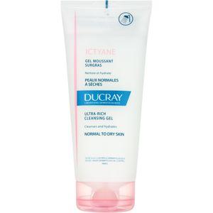 Ducray Ictyane pěnivý čisticí gel pro normální a suchou pokožku 200 ml