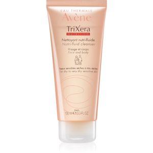 Avène TriXera Nutrition čisticí gel na obličej a tělo 100 ml