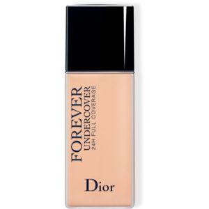 Dior Diorskin Forever Undercover plně krycí make-up 24h odstín 025 Soft Beige 40 ml