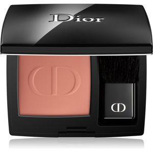 Dior Rouge Blush kompaktní tvářenka se štětcem a zrcátkem odstín 136 Delicate Matte 6,7 ml