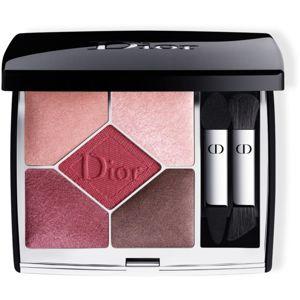 Dior 5 Couleurs Couture paletka očních stínů odstín 879 Rouge Trafalgar 7 g