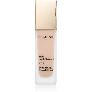 Clarins Face Make-Up Everlasting Foundation+ dlouhotrvající tekutý make-up SPF 15 odstín 109 Wheat 30 ml