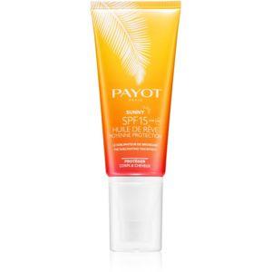 Payot Sunny ochranný suchý olej na opalování SPF 15 100 ml