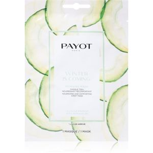 Payot Morning Mask Winter is Coming vyživující plátýnková maska 19 ml