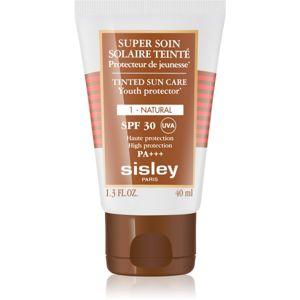 Sisley Super Soin Solaire Teinté ochranný tónovací krém na obličej SPF 30 odstín 1 Natural 40 ml