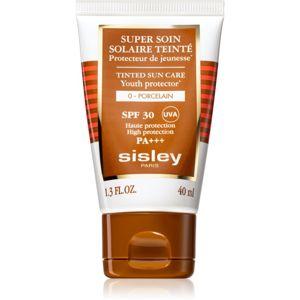 Sisley Super Soin Solaire Teinté ochranný tónovací krém na obličej SPF 30 odstín 0 Porcelain 40 ml