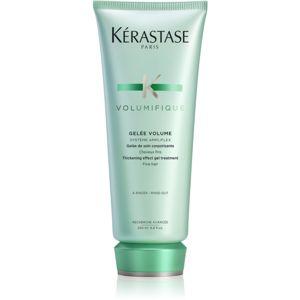 Kérastase Volumifique Gelée Volume gelový kondicionér pro jemné a zplihlé vlasy 200 ml