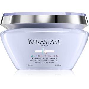 Kérastase Blond Absolu Masque Cicaextreme hloubkově regenerační maska pro blond vlasy 200 ml