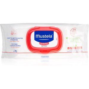 Mustela Bébé zklidňující čisticí ubrousky pro děti 70 ks