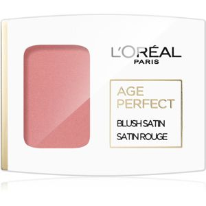 L'Oréal Paris Age Perfect Blush Satin tvářenka odstín 101 Rosewood 5 g
