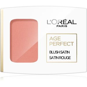 L'Oréal Paris Age Perfect Blush Satin tvářenka odstín 110 Peach 5 g