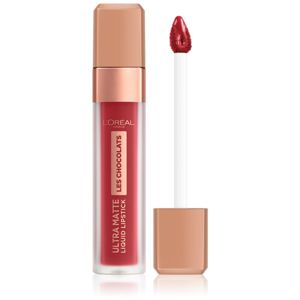 L'Oréal Paris Infallible Les Chocolats ultra matná tekutá rtěnka odstín 864 Tasty Ruby 7,6 ml