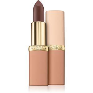 L'Oréal Paris Color Riche Matte Free The Nudes matná hydratační rtěnka odstín 10 No Pressure 3,6 g