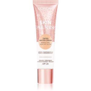 L'Oréal Paris Wake Up & Glow Skin Paradise tónující hydratační krém odstín Light 01 30 ml