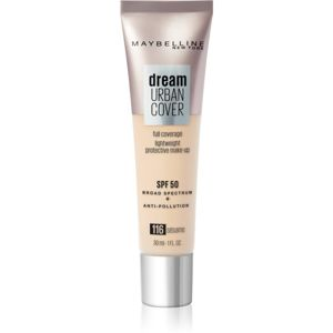 Maybelline Dream Urban Cover vysoce krycí make-up odstín 116 Sesame 30 ml