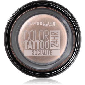 Maybelline Color Tattoo gelové oční stíny odstín Socialite 4 g