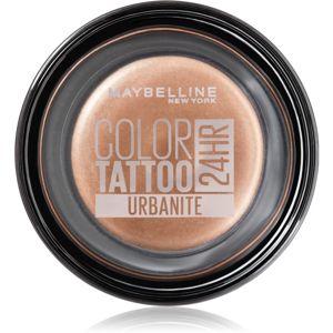 Maybelline Color Tattoo gelové oční stíny odstín Urbanite 4 g