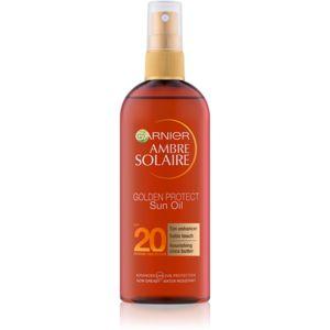 Garnier Ambre Solaire Golden Protect olej na opalování SPF 20 150 ml