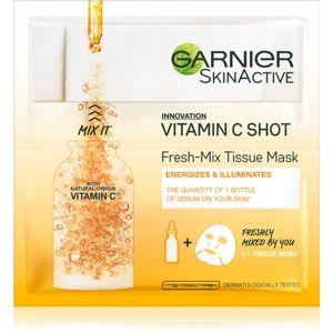 Garnier Skin Naturals Fresh Mix Mask Vitamin maska pro suchou pleť 33 g