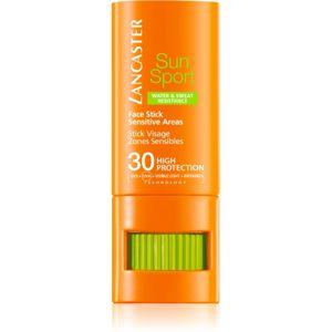 Lancaster Sun Sport Face Stick lokální péče proti slunečnímu záření SPF 30 8 g