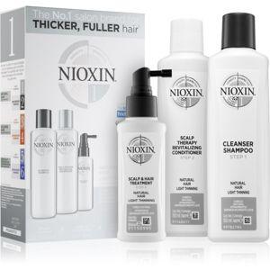 Nioxin System 1 Natural Hair Light Thinning kosmetická sada