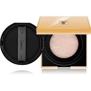 Yves Saint Laurent Touche Éclat Le Cushion rozjasňující tekutý make-up v houbičce odstín B 50 Honey 15 g