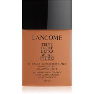 Lancôme Teint Idole Ultra Wear Nude lehký matující make-up odstín 10 Praline 40 ml