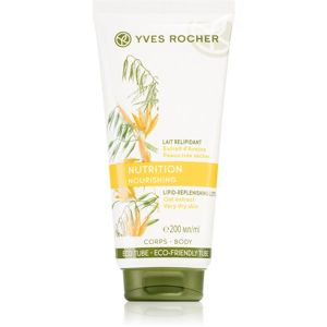 Yves Rocher Nourishing vyživující tělové mléko 200 ml