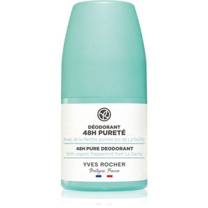 Yves Rocher 48 H Pure kuličkový deodorant roll-on 50 ml