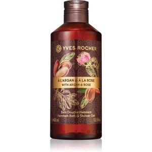 Yves Rocher Argan & Rose relaxační koupelový a sprchový gel 400 ml