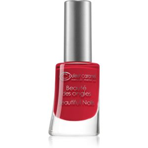 Couleur Caramel Beautiful Nails lak na nehty odstín č.23 - Matt Lacquered Ruby 8 ml